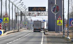 Минпромторг призвал регионы отменить пропуска для большегрузов