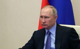 Путин обсудит на телесовещании с правительством ситуацию с COVID-19
