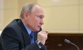 Путин призвал рационально распределять нагрузку при борьбе с COVID-19