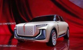 Роскошный «китаец» с дизайном в стиле Rolls-Royce Cullinan: первые фото серийной версии