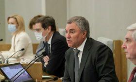 Госдума будет проводить пленарные заседания каждую неделю