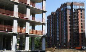 Объемы строительства жилья в России снизились на 36,5% в апреле