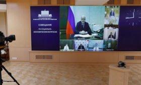Мишустин провел заседание правительства из больницы: премьера выдала чашка