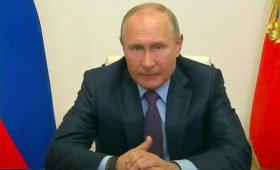 Путин сообщил о еще одном переболевшем коронавирусом министре