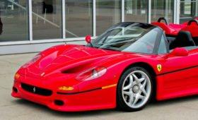 Беспощаден к водителю: Ferrari F50 в идеальном состоянии выставлен на продажу