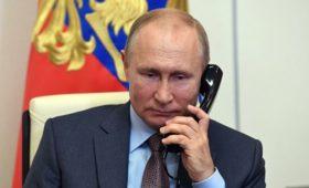 Путин провел телефонный разговор с президентом Белоруссии