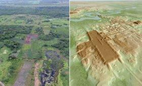 Археологи нашли самое большое и древнее сооружение майя