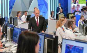 Путин проведет прямую линию после 1 июля