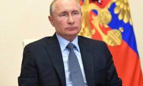 Путин  сегодня выступит с обращением к гражданам