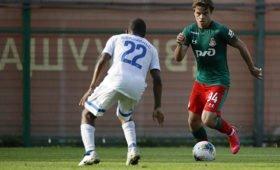 «Локомотив» и «Динамо» сыграли первый после пандемии матч в Москве