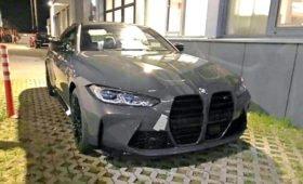 Новый BMW M4 на первых фото: ноздри ещё больше!
