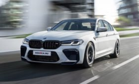 Новая BMW M5 2021