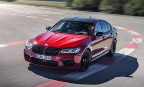 BMW обновил M5: новая цифровая «приборка» и лазерные фары, а мотор прежний