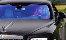 Полиция изъяла Rolls-Royce у футболиста «Манчестер Юнайтед»