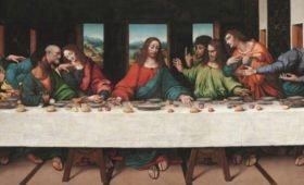 «Тайную вечерю» оцифровали в сверхвысоком разрешении (ФОТО)