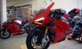 Поклонник Lego собрал из конструктора мотоцикл Ducati