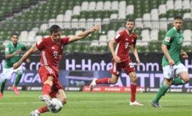 «Бавария» восьмой раз подряд стала чемпионом Германии по футболу