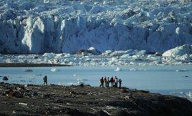 Российские школьники открыли остров на Новой Земле