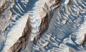 Ученые впервые измерили скорость движения песков на поверхности Марса