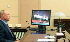 Путин провел по видеосвязи совещание с членами Совбеза