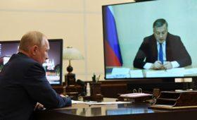 Кобзев попросил Путина поддержать просьбу иркутских властей по газу