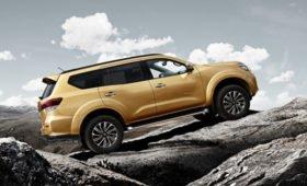 Обновлённый рамный внедорожник Nissan Terra поймали во время тестов