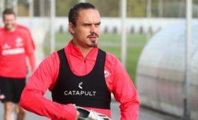 Футболиста «Спартака» Ещенко дисквалифицировали на три матча