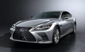 Обновлённый Lexus LS: лунный блеск, умные фары, автопилот и тишина