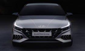 «Подогретая» Hyundai Elantra нового поколения: те же 204 л.с., но дизайн теперь свой