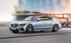Новый Mercedes-Benz S-Class W223 2021