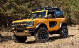 Возрождённый рамный внедорожник Ford Bronco: два мотора, на выбор – «механика» или «автомат»