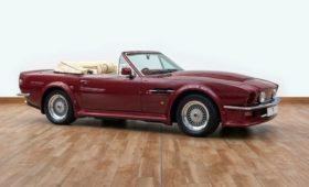 Бывший кабриолет Aston Martin футболиста Бекхэма выставили на продажу