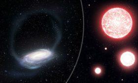 Астрономы нашли звездное скопление, разорванное нашей Галактикой
