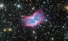 Телескоп VLT сделал самое красивое фото «космической бабочки»