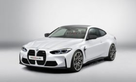 Новая BMW M4 G82