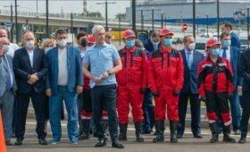 Собянин открыл транспортную развязку возле метро «Саларьево»