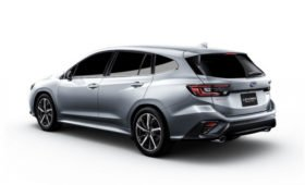 Раскрыт салон нового универсала Subaru Levorg: виртуальная «приборка» и огромный планшет