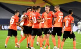 Донецкий «Шахтер» вышел в полуфинал Лиги Европы