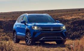 Кроссовер Volkswagen Taos: дешевле Тигуана, кое-где – с новым мотором. Доберется до России