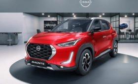 Кроссовер Nissan Magnite: только бензин и передний привод, временно от 518 000 рублей